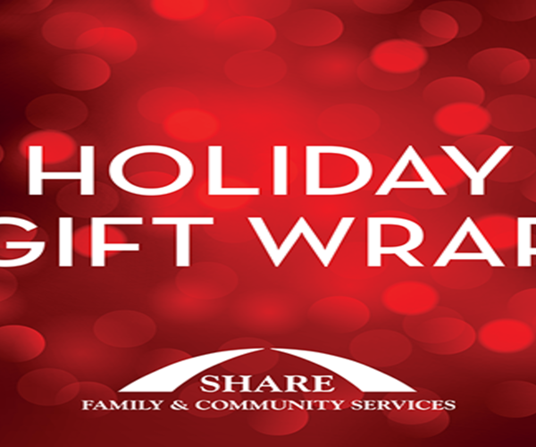 Holiday Gift Wrapping At Coquitlam Center