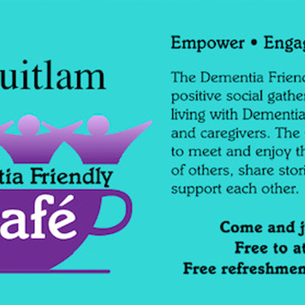 Dementia friendly cafe - Monthly