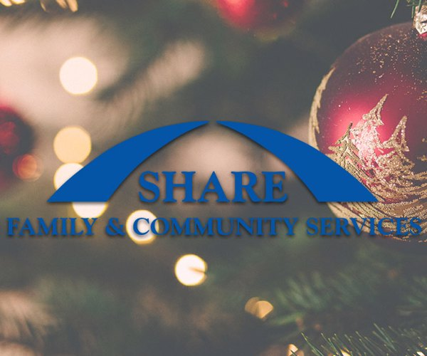 Holiday Hours For the SHARE Food Bank